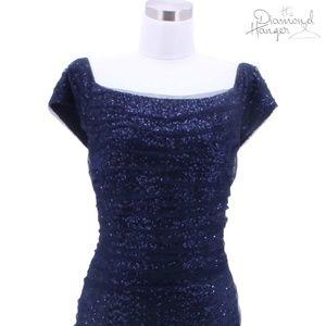 A11 LAUREN RALPH LAUREN Designer Dress Size 12 Lar